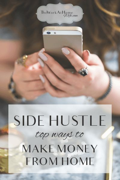Great side hustle ideas for those looking to make a little extra money on the side