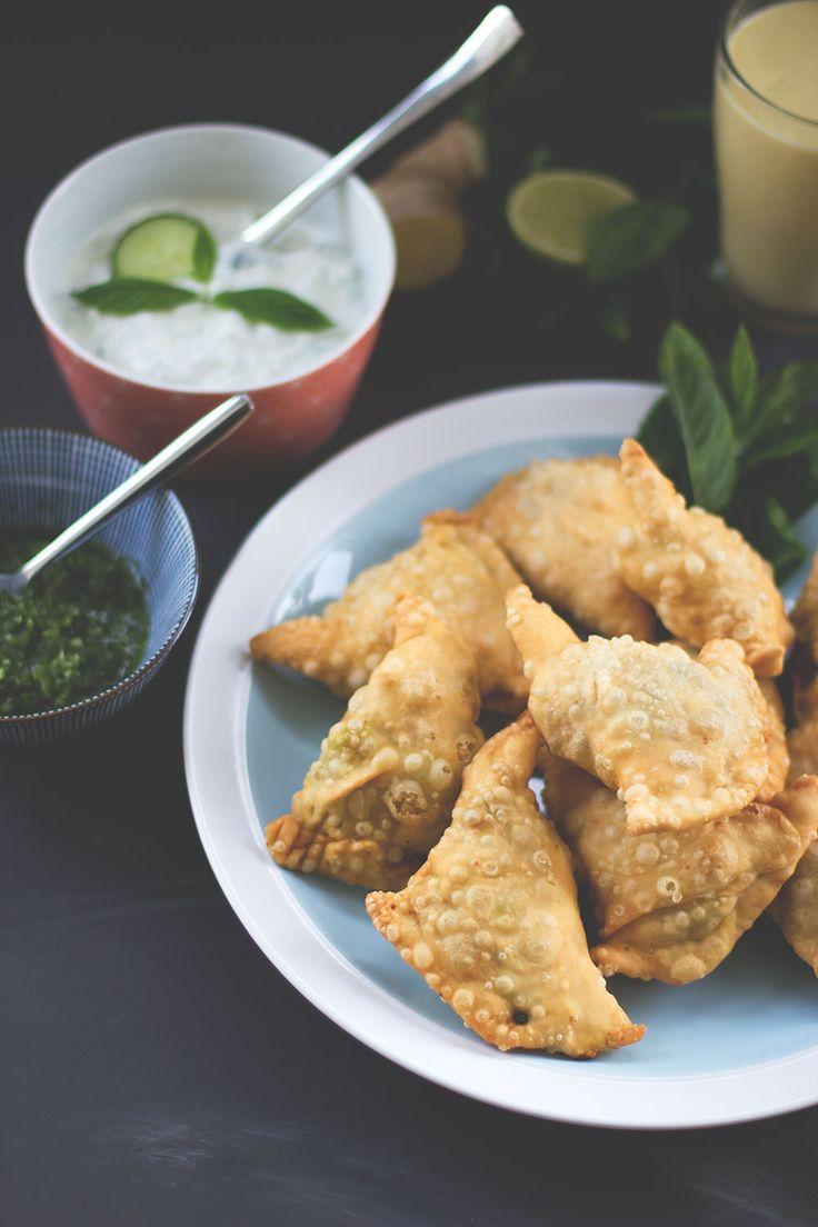 die besten 25 samosa rezept ideen auf pinterest samosas indisches essen vegetarisch und. Black Bedroom Furniture Sets. Home Design Ideas