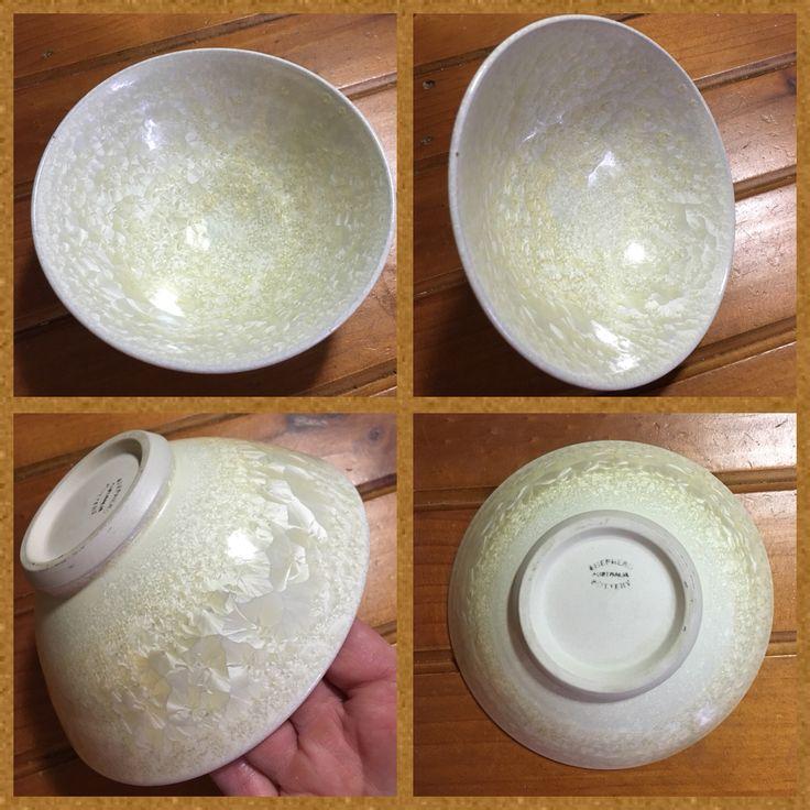 Shepherd Pottery Crystalline Glaze Bowl