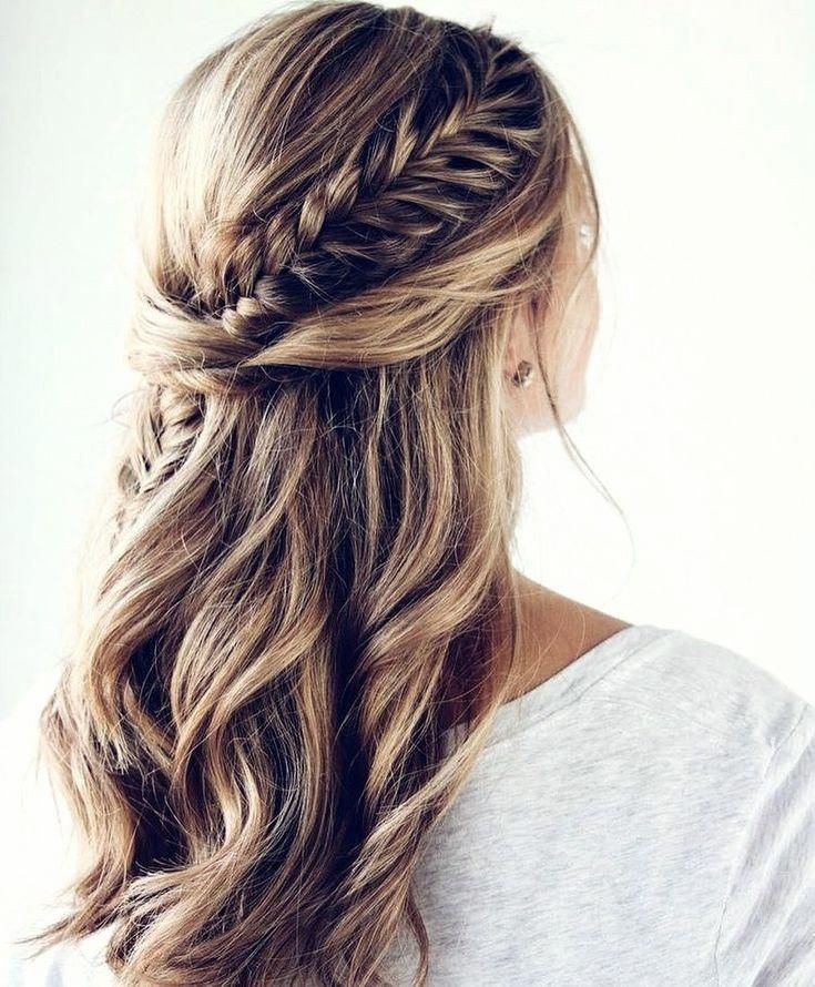 18++ Fishtail braid hairstyles for wedding inspirations