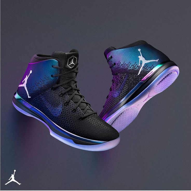 Add the iridescent AJ XXXI 'All-Star' to your lineup.