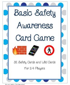 Free! Basic Safety Card Game….basic safety information&about personal information that every student should know in case he/she ever got lost etc...