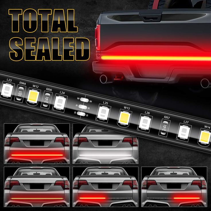 Ambother Led Tailgate Light Bar 49 U0026quot  Truck Brake Flexible