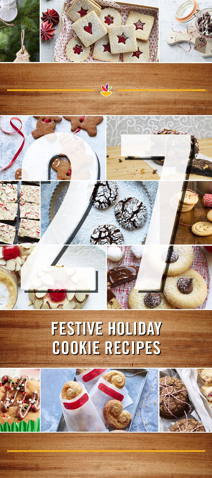 27 Holiday Cookie Recipes! We're counting down to the holiday with recipe and menu ideas. Check it out here: https://www.pinterest.com/martinsfoods/12-days-of-delicious/