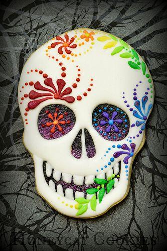 Sugar Skull by Honeycat Cookies                                                                                                                                                                                 More