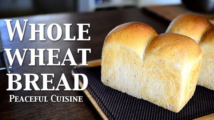 "Baking with natural yeast 3/3 ""Whole wheat bread"" ☆ 天然酵母パン3〜山食パン〜 ❤ https://www.youtube.com/watch?v=G4iOTavi-ec"