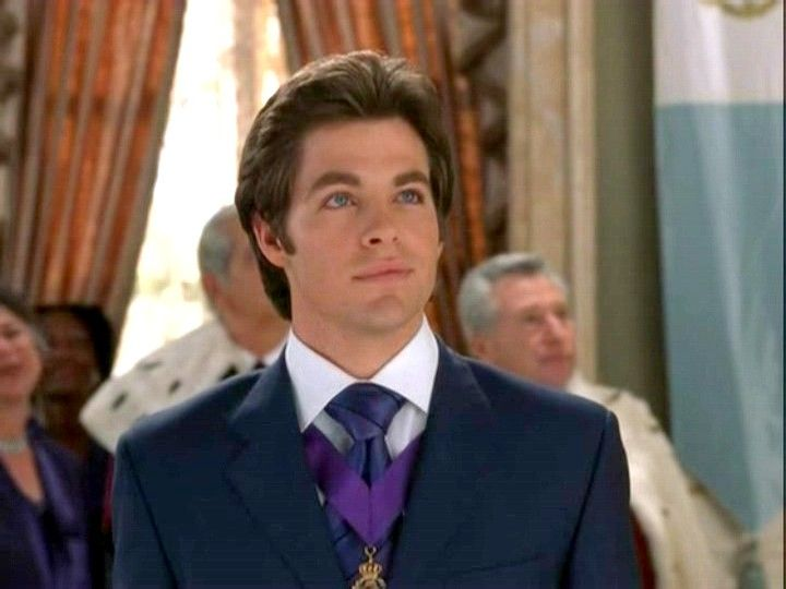 Nicholas Devereux -Princess Diaries 2... The movie I fell in love with Chris Pine...