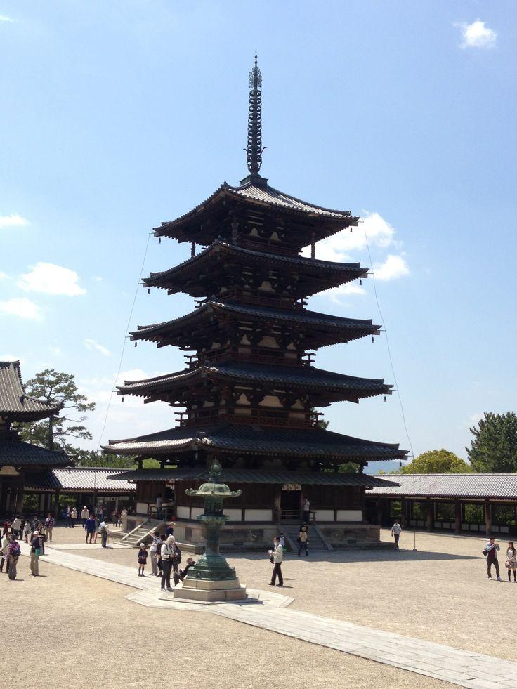 法隆寺 / Buddhist Monuments in the Horyu-ji Area