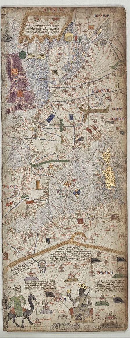 Abraham Cresques Atlas de cartes marines