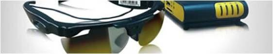 Eye 21: Gafas para invidentes (03/2013)http://www.eye2021.com/-EYE21son unas gafas que se basan lacapacidad de representar el espacio con sonidos, permitiendo así al portador ser capaz de reconocer lo que tiene delante sólo a través del oído,sin necesidad de la vista. Permite la identificación de los usuarios que están frente a él. Ayuda para el reconocimiento de texto y símbolos....
