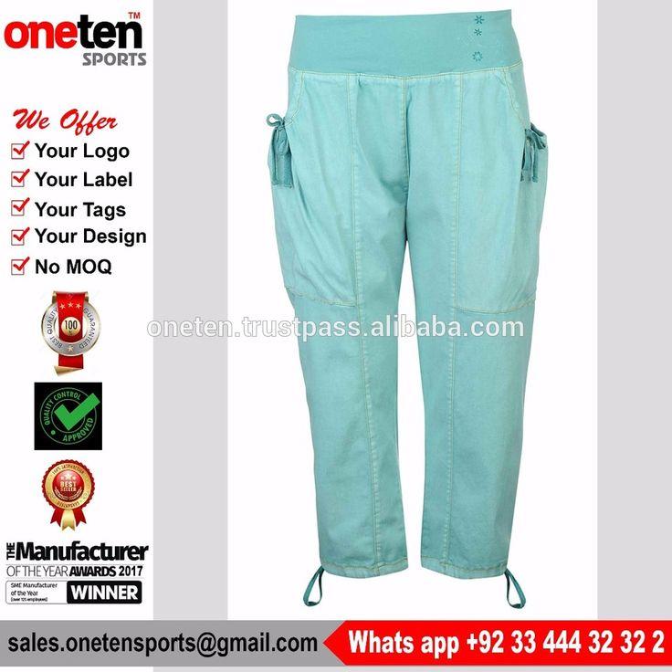 Ocean Blue Trousers For Women - Climbing Wear