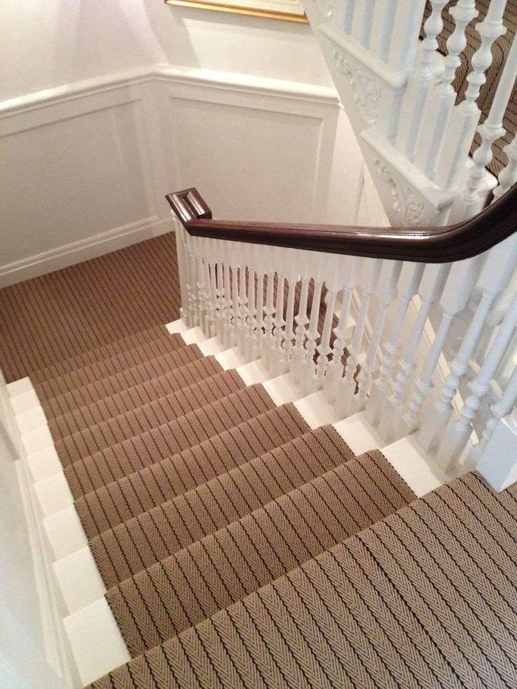 Hartley & Tissier Stripes Flatweave CF02 Stair runner carpet