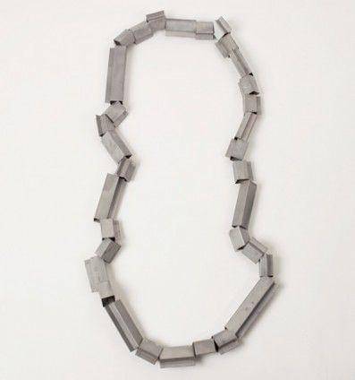 Anne Achenbach, necklace, 2011, zinc-coated steel