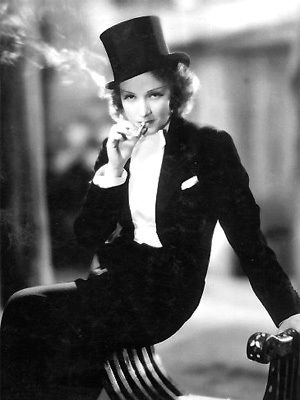 Dietrich in a suit is one of the single most attractive things that has existed on this earth.