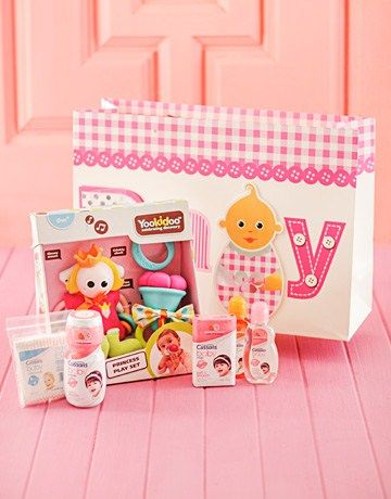 Yookidoo Toy with Baby Pamper Pack