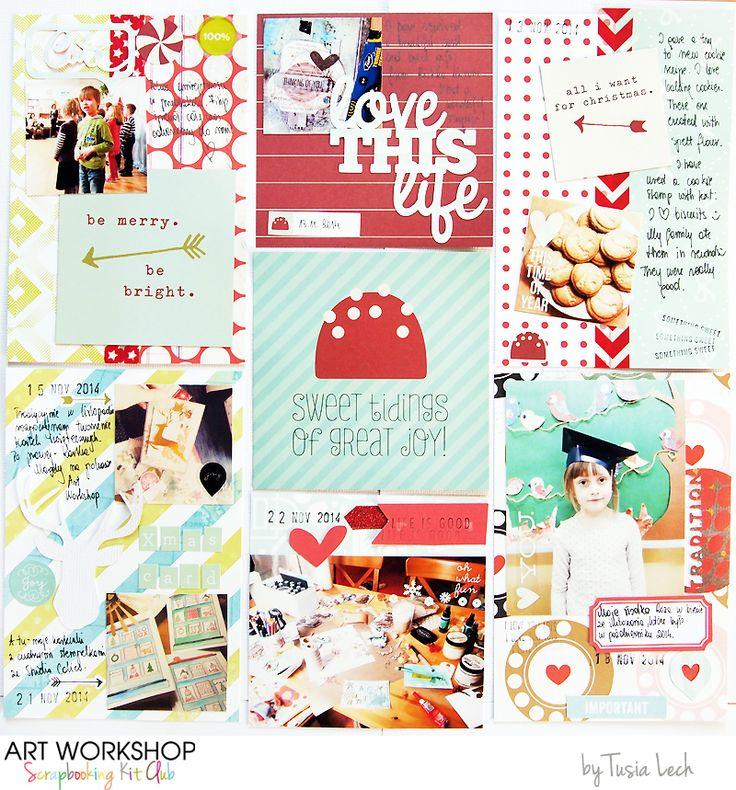 Art Workshop Kit Club November 2014 Pocket Life Kit by Tusia Lech