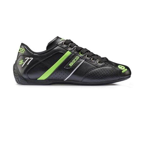 Chaussures SPARCO Time 77 en cuir pour homme - Oreca-Store