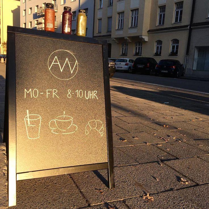 """Gefällt 132 Mal, 5 Kommentare - 2hoch5 // Zeit für München (@zweihochfuenf) auf Instagram: """"Neu in der Nachbarschaft! Im AW Café in Schwabing-West gibt es jeden Morgen von 8-10 Uhr guten…"""""""