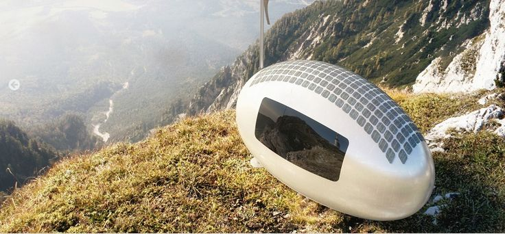 Solar-powered Ecocapsule lets you live off-the-grid anywhere in the world