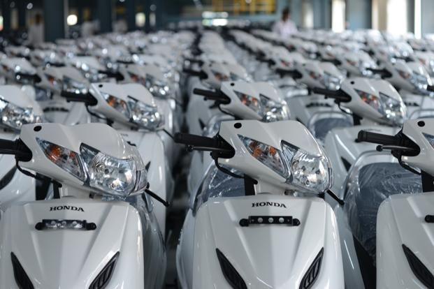 Honda Activa Scooters At Hmsi S Karnataka Plant Honda Says It S