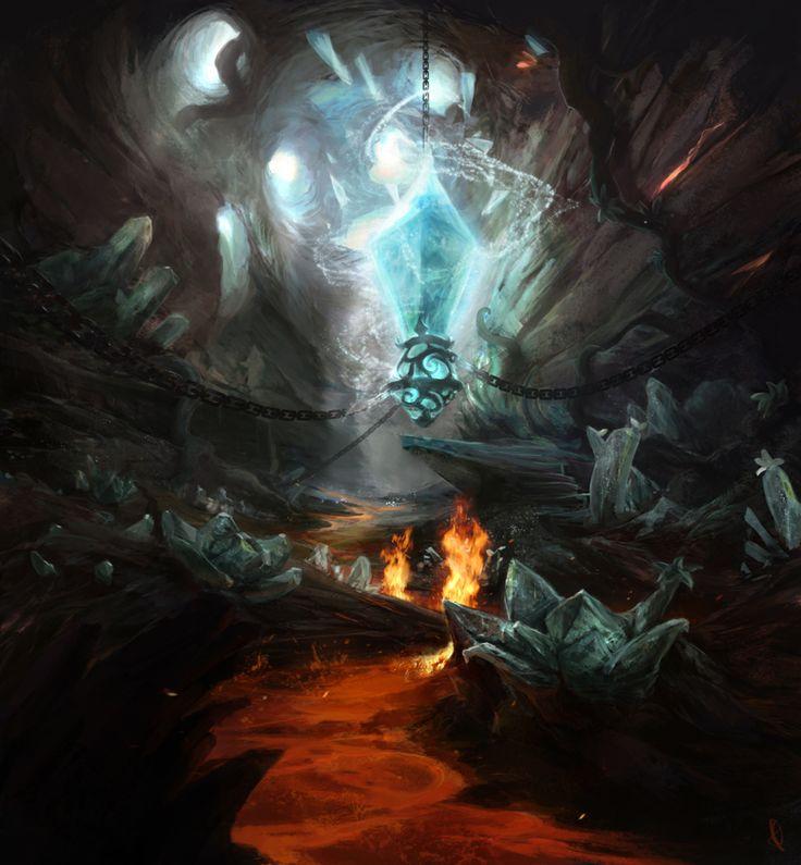 Crystal Cave by ~firedudewraith on deviantART