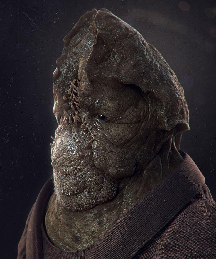 Fat Alien, Ivan Mityaev on ArtStation at http://www.artstation.com/artwork/fat-alien