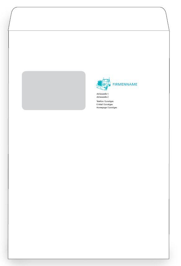 In der Größe C6/5 steht Ihnen die moderne und schlichte Kuvert Vorlage zur weiteren Bearbeitung zur Verfügung. #briefumschlag #briefumschlagvorlagen #briefumschlagdesigns #briefumschläge