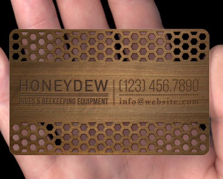 Our laser cut wood business cards are now available.