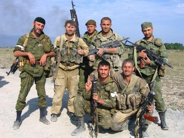 Spetsnaz GRU Vostok Battalion, Chechnya