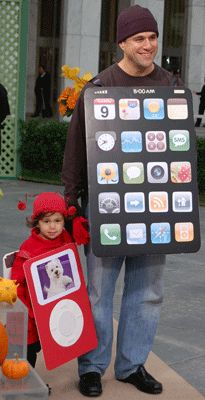 iPhone or iPod costume