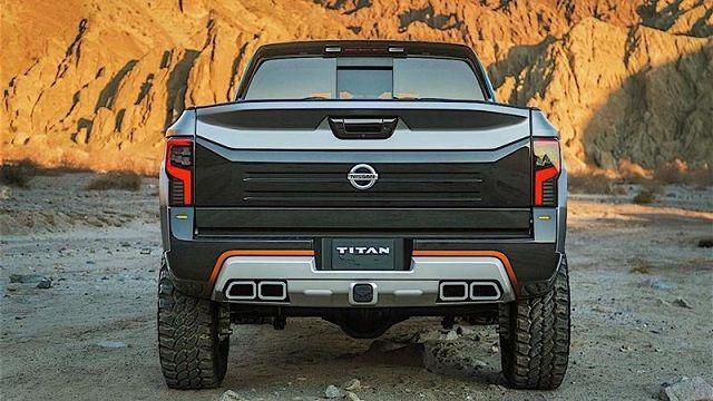 2019 nissan titan nismo rear