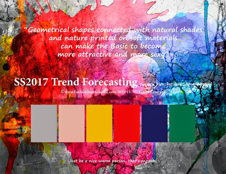 Trending Colors 2017 Clothing