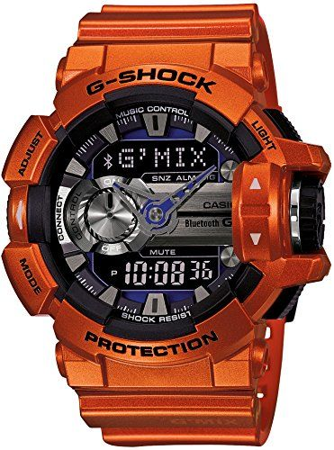 CASIO G-SHOCK Bluetooth「G'MIX」GBA-400-4BJF JAPAN IMPORT Casio http://www.amazon.com/dp/B00RB15NTO/ref=cm_sw_r_pi_dp_Z98Xvb1HRKX6N