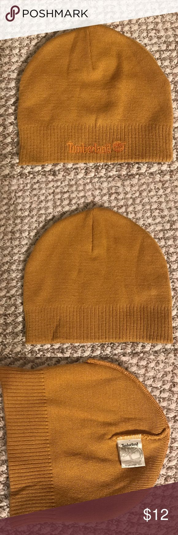 Authentic Timberland Hat Authentic Tan Timberland Hat. Brand new. Never used. Unisex Timberland Accessories Hats