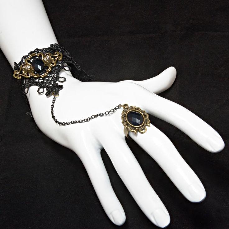 Για ένα πιό ξεχωριστό στυλ με διαχρονικότητα!!! Βραχιόλι δαχτυλίδι με δαντέλα από το κατάστημα  Haritou!!! Τιμή: 9.90€