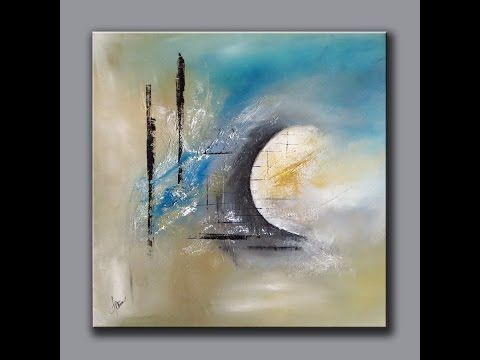 Démonstration peinture abstraite (10) - Abstract acrylic painting - Althea…                                                                                                                                                                                 More