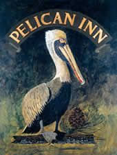 Muir Beach Pelican Inn. Old pub and inn. Drinks and food. Bomb.