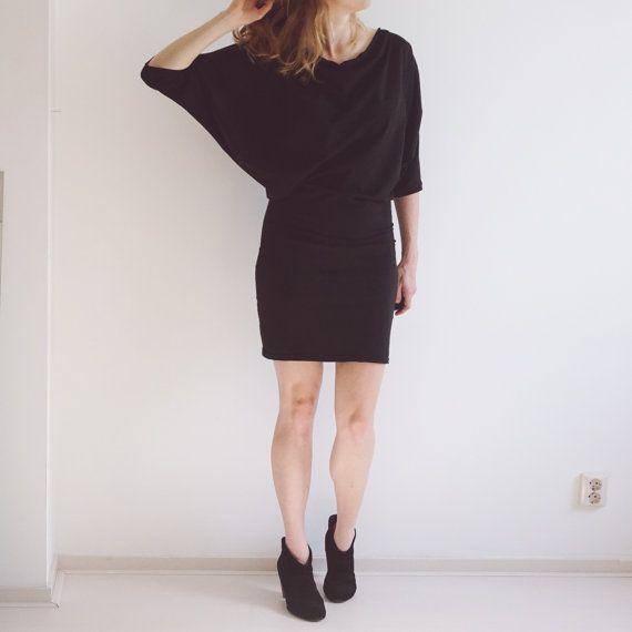 Elskan Dress  / Top PDF Sewing Pattern for women  Batwing
