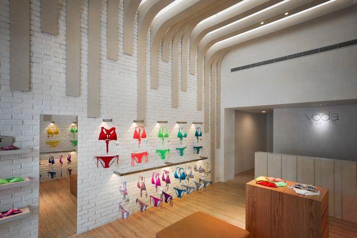 Retail Design Blog — Voda Swim Store by MW Design, Taichung - Taiwan