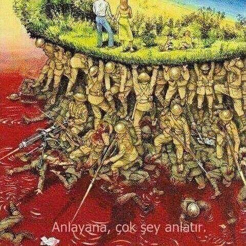 Türkiye kolay kazanılmadı taşında toprağında Tarih yatar, Nice kahramanlar yatar, Bu vatan bizimdir. Bizim kalacak ! #kayıboyu