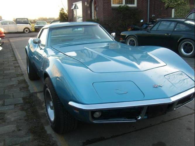 Stingray Light Blue Old Corvette Dream Cars Corvette Stingray
