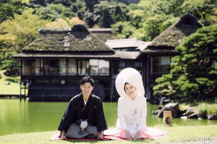 彦根城下で*前撮り  *elle pupa blog*
