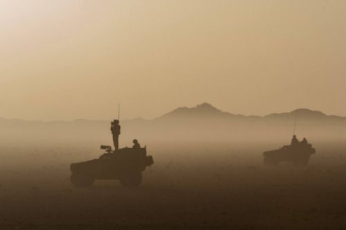 French Army pathfinders in northern Mali.