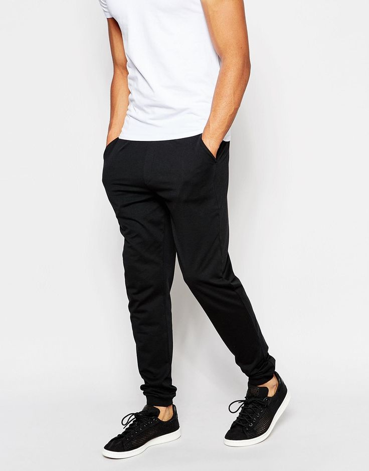 Image 1 of ASOS Skinny Joggers In Lightweight Fabric