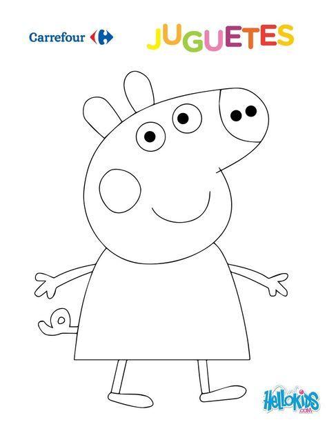 Dibujo para colorear : Peppa Pig | Verdades ocultas en 2018