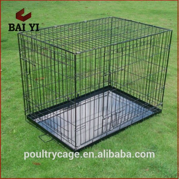 Cheap Outdoor / Indoor Steel Cage for Europe and America Pet Dog