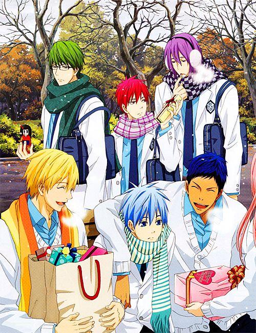 Happy Valentines Day from Kuroko no Basket!!! <3