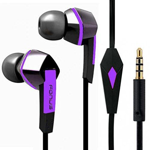 Headset Handsfree Earphones Earbuds w Mic Dual Headphones Stereo Flat Wired 3.5mm (Purple) for Sprint Samsung Galaxy S7 (SM-G930P) - Sprint Samsung Galaxy S7 Edge (SM-G935P) ** See this great product. (This is an affiliate link and I receive a commission for the sales)