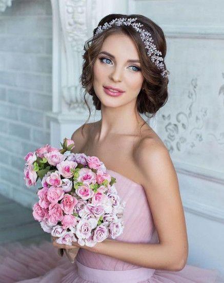 Wedding hairstyles bride tiara headpieces 67 ideas for 2019