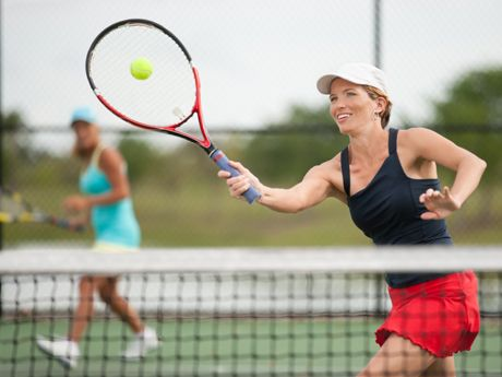The Basics of Doubles Tennis -   Find a doubles partner in your area at www.buddyup.com